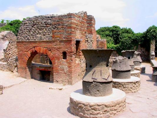 2 moulin et boulangerie pompei
