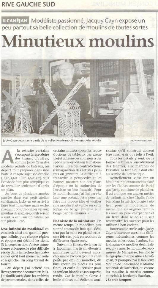 3 article sud ouest